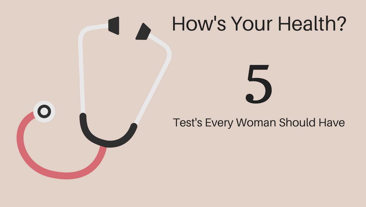 5 Health Tests Every Woman Should Have - Weight Loss For Women